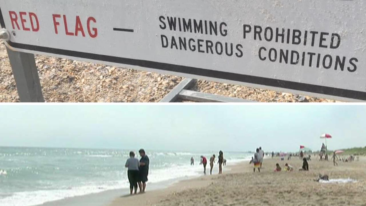 Dad punches shark 5 times to save daughter in North Carolina