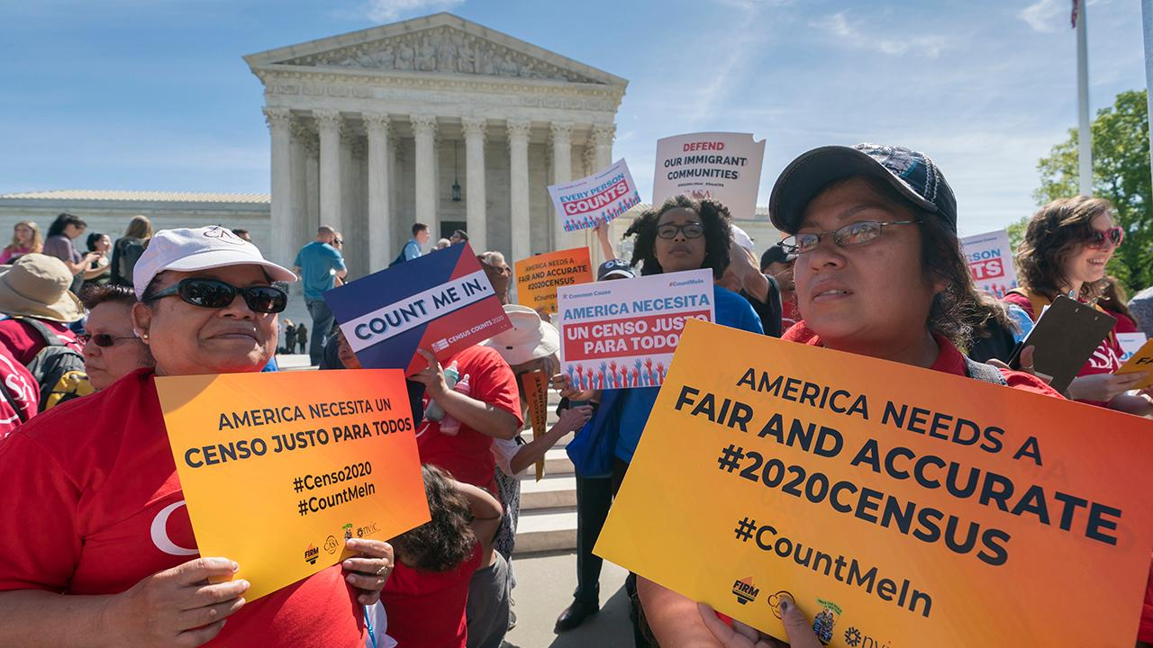 Supreme Court justices weigh 2020 census citizenship question