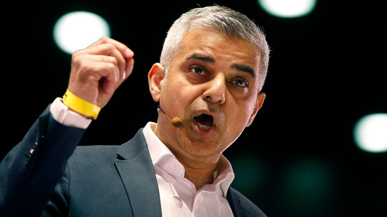 London mayor Sadiq Khan butts heads with Trump over UK visit