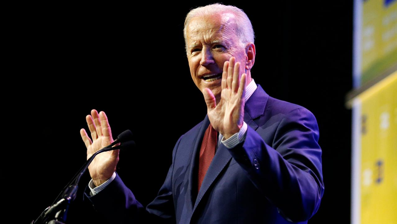 Biden heads to Ohio while 2020 opponents campaign in California