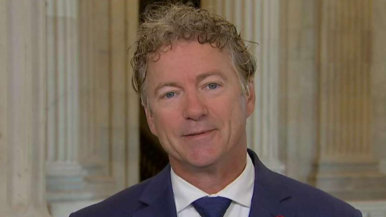 Rand Paul calls out hypocrisy in Washington after Senate rejects his plan to balance the budget