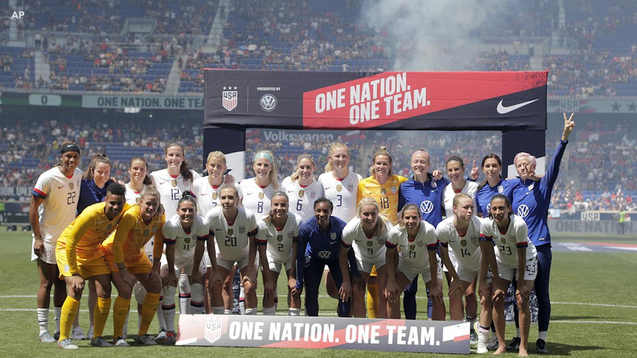 US women's soccer team ready to bring home World Cup trophy