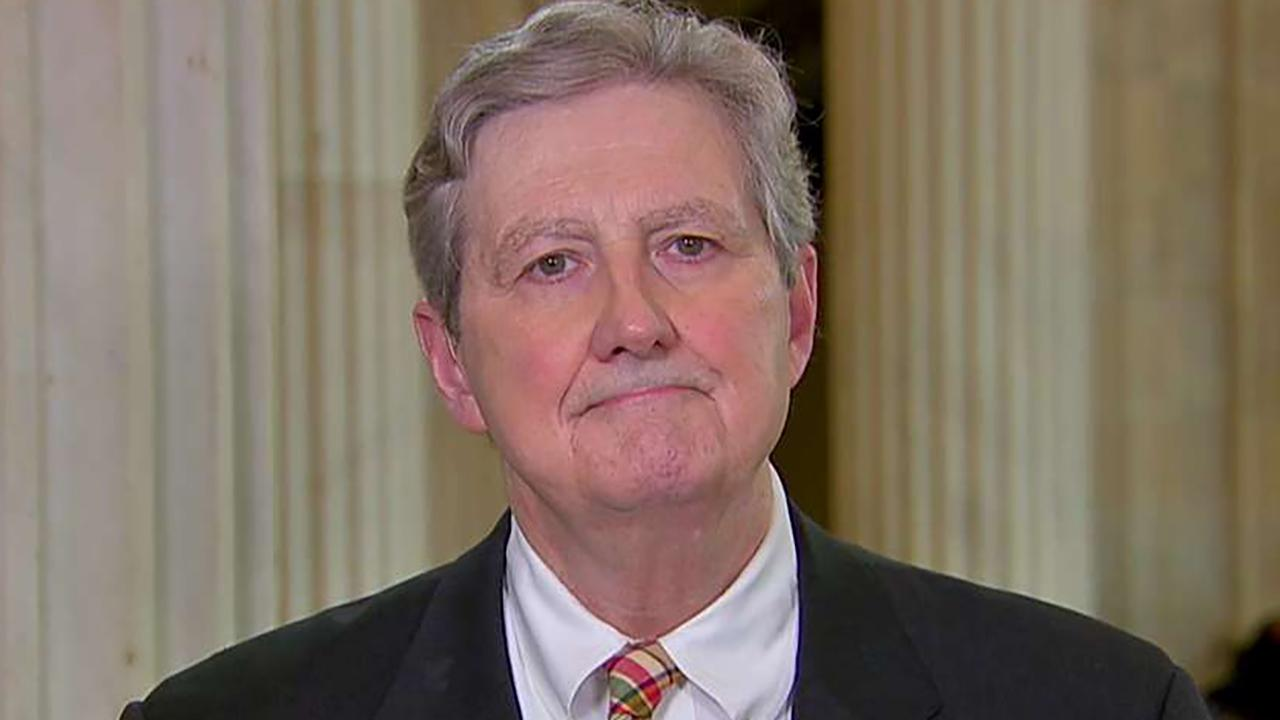 Sen. Kennedy: We're going into the third year of them throwing a tantrum over the election result