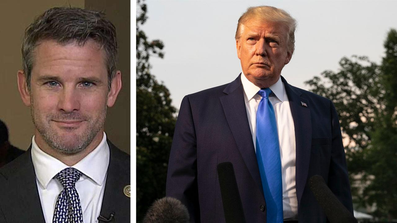 Rep. Adam Kinzinger on Trump's tough talk toward Iran: American strength makes some people uncomfortable