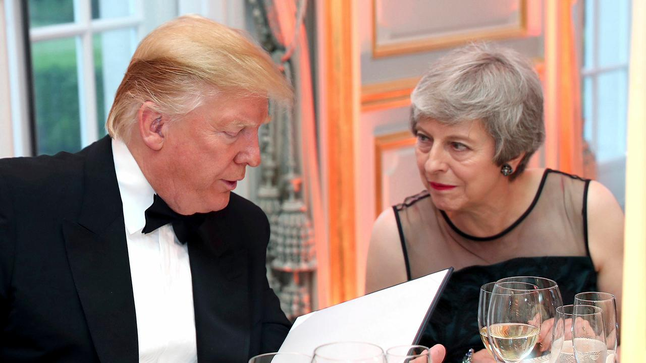 British media covers President Trump's visit to the UK positively