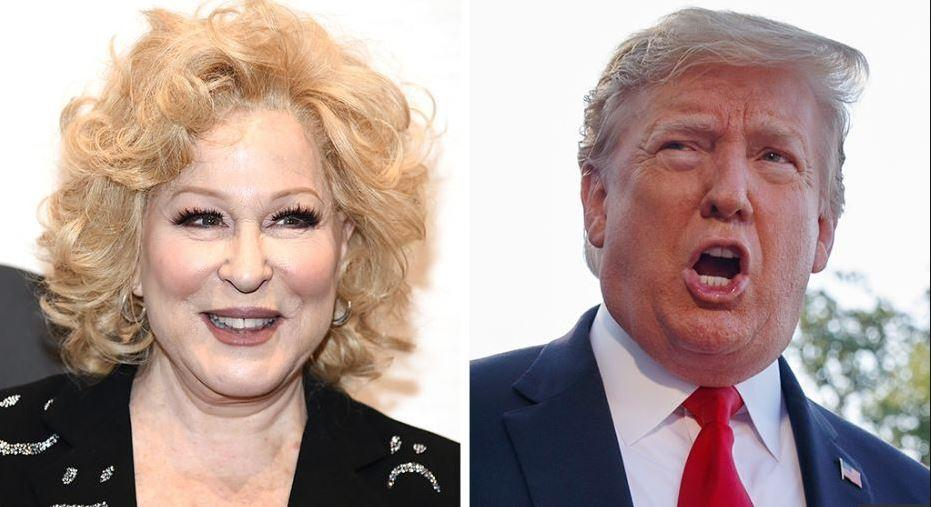 Bette Midler creates social media mess with a tweet calling for the president to be stabbed