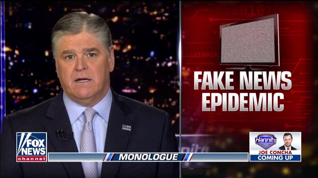 Sean Hannity: Mainstream media 'smear machine' in full gear on Trump's UK visit