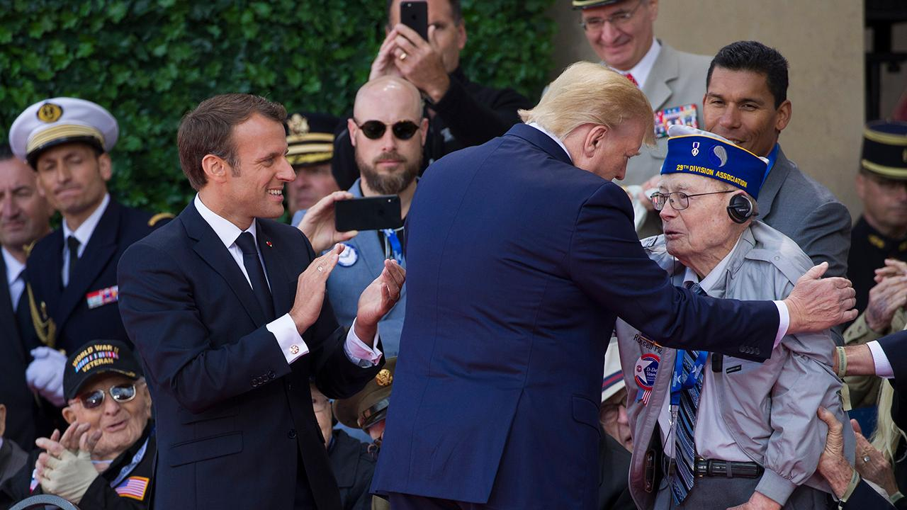 World War II veterans, world leaders gather in Normandy to commemorate the 75th anniversary of D-Day