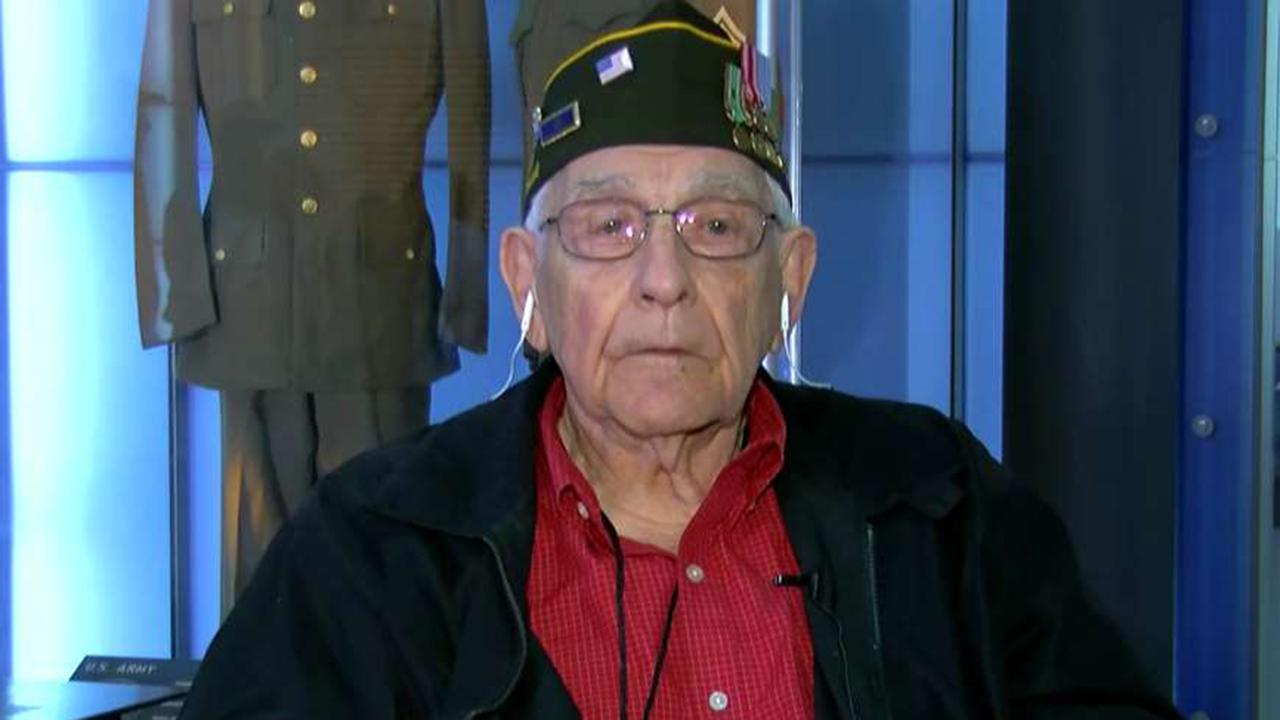 D-Day veteran Vito Mastrangelo recalls harrowing experience in the Battle of Normandy: I just about drowned