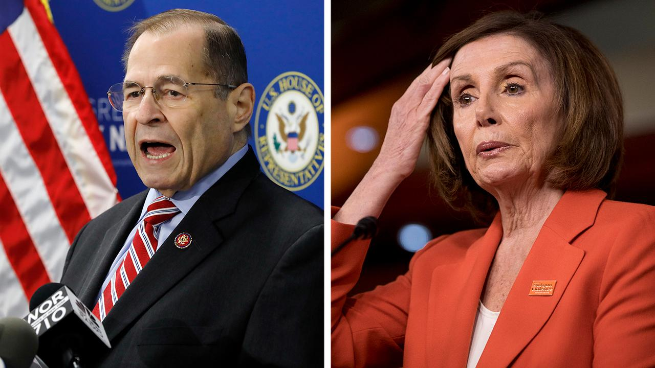 Reports of a split between Nancy Pelosi and Jerry Nadler over impeachment
