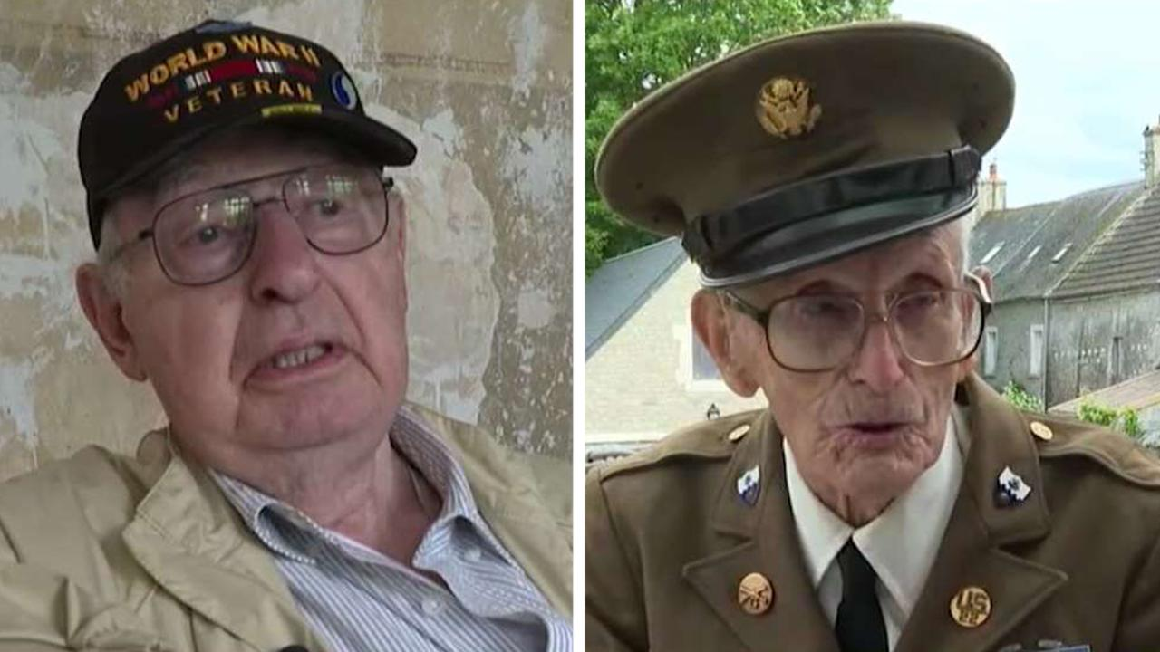 World War II veterans reflect on Normandy invasion