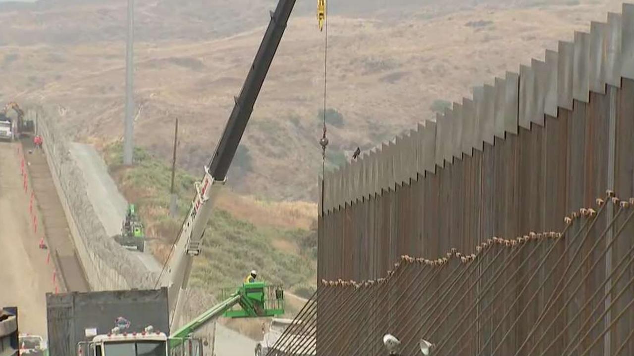 Border patrol agents warn of trouble spots along barrier