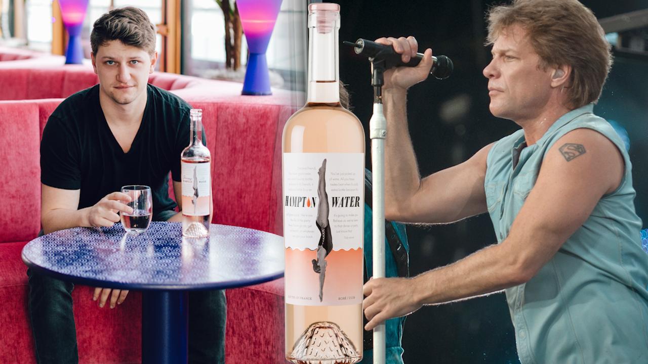 Rosé all day with Jon Bon Jovi and Jesse Bongiovi