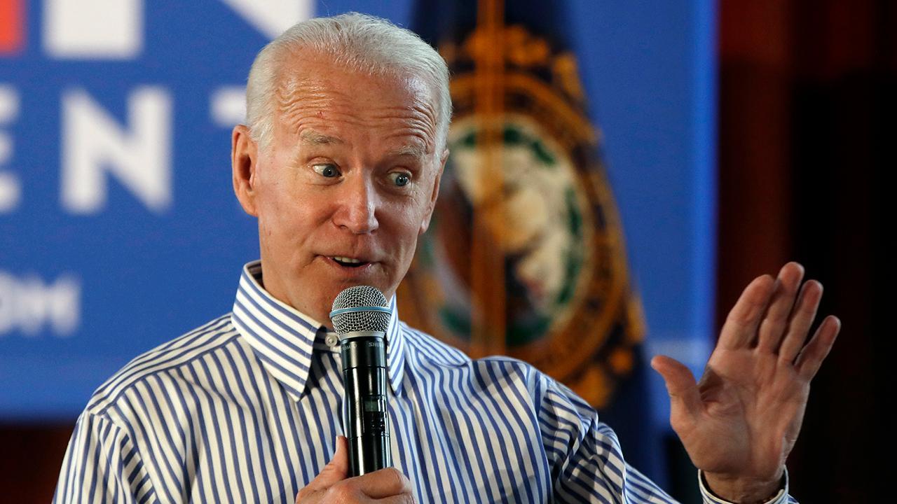 Biden's lead slips in latest Iowa poll