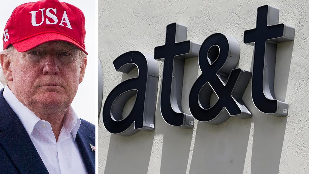 Trump urges boycott of AT&T