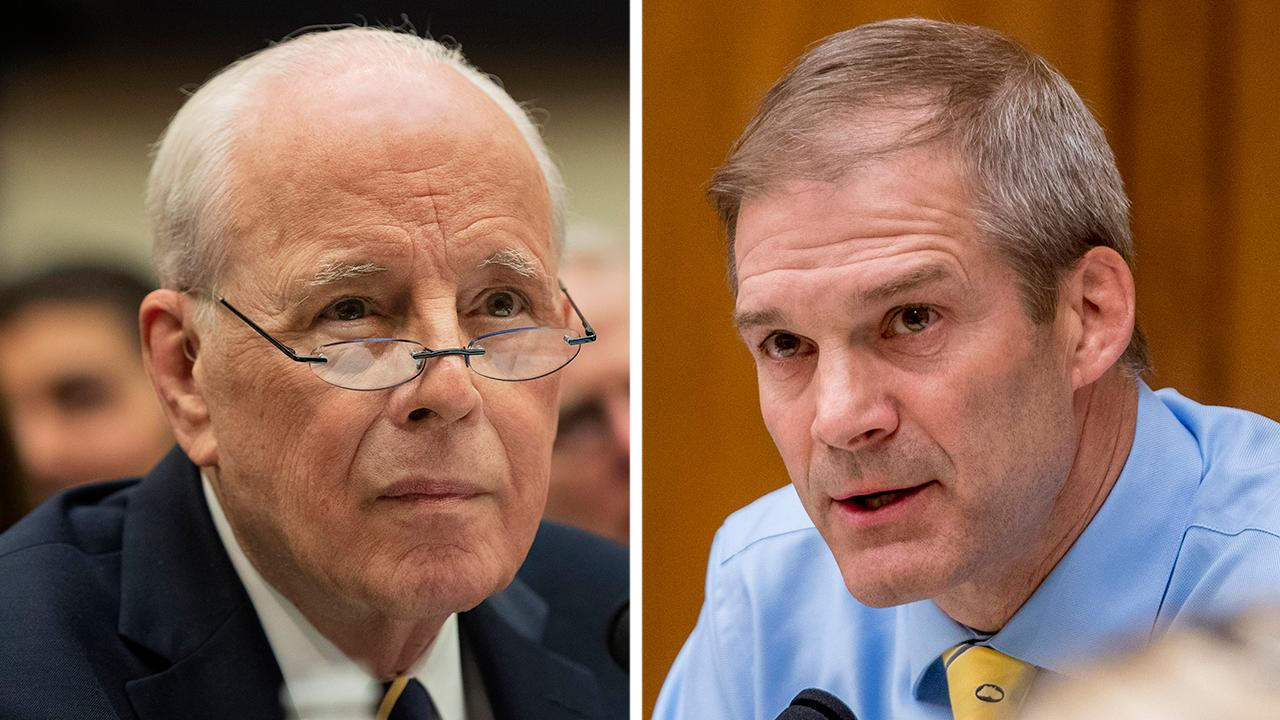 Rep. Jim Jordan grills John Dean on Michael Cohen