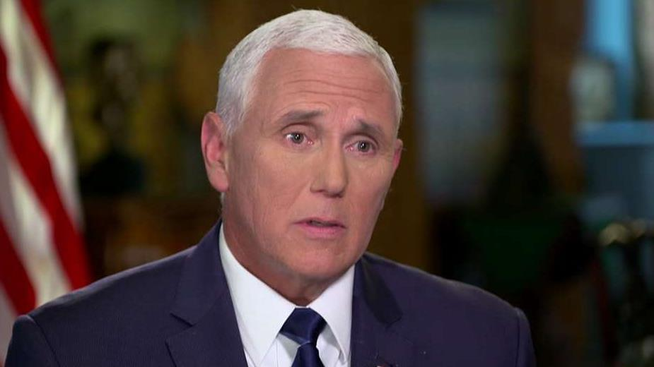 Vice President Mike Pence defends immigration deal with Mexico, President Trump's use of tariffs