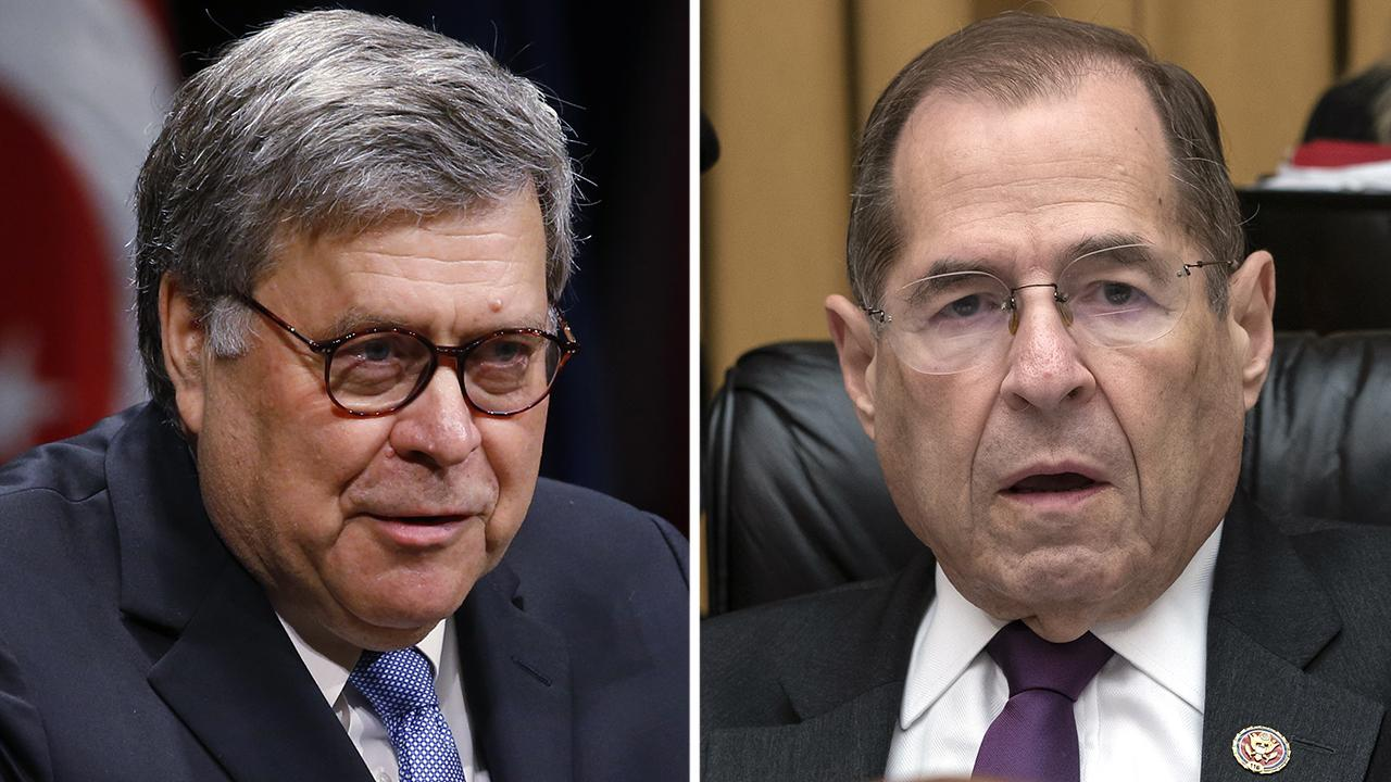 DOJ pushes back at Dem gloating over Mueller report deal: 'This isn't a blank check' thumbnail