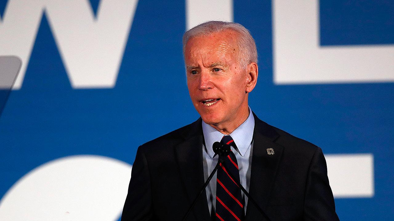 Former Vice President Biden holds community event in Ottumwa, Iowa