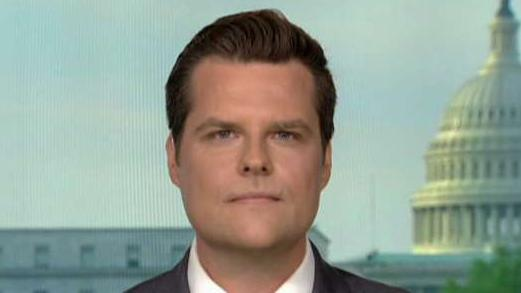 Gaetz: If Mueller testifies it should be publicly