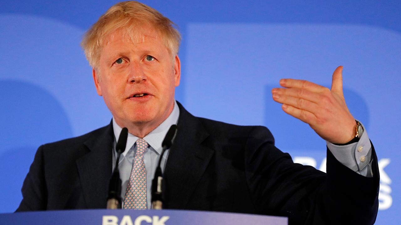 Boris Johnson officially launches his bid to become Britain's next prime minister