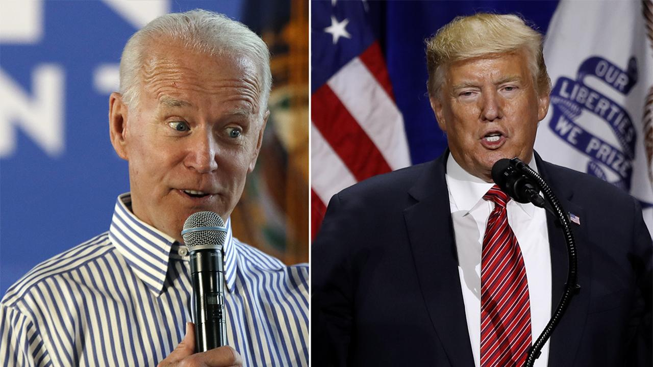 Quinnipiac University poll shows Joe Biden with a 13-point lead over President Trump