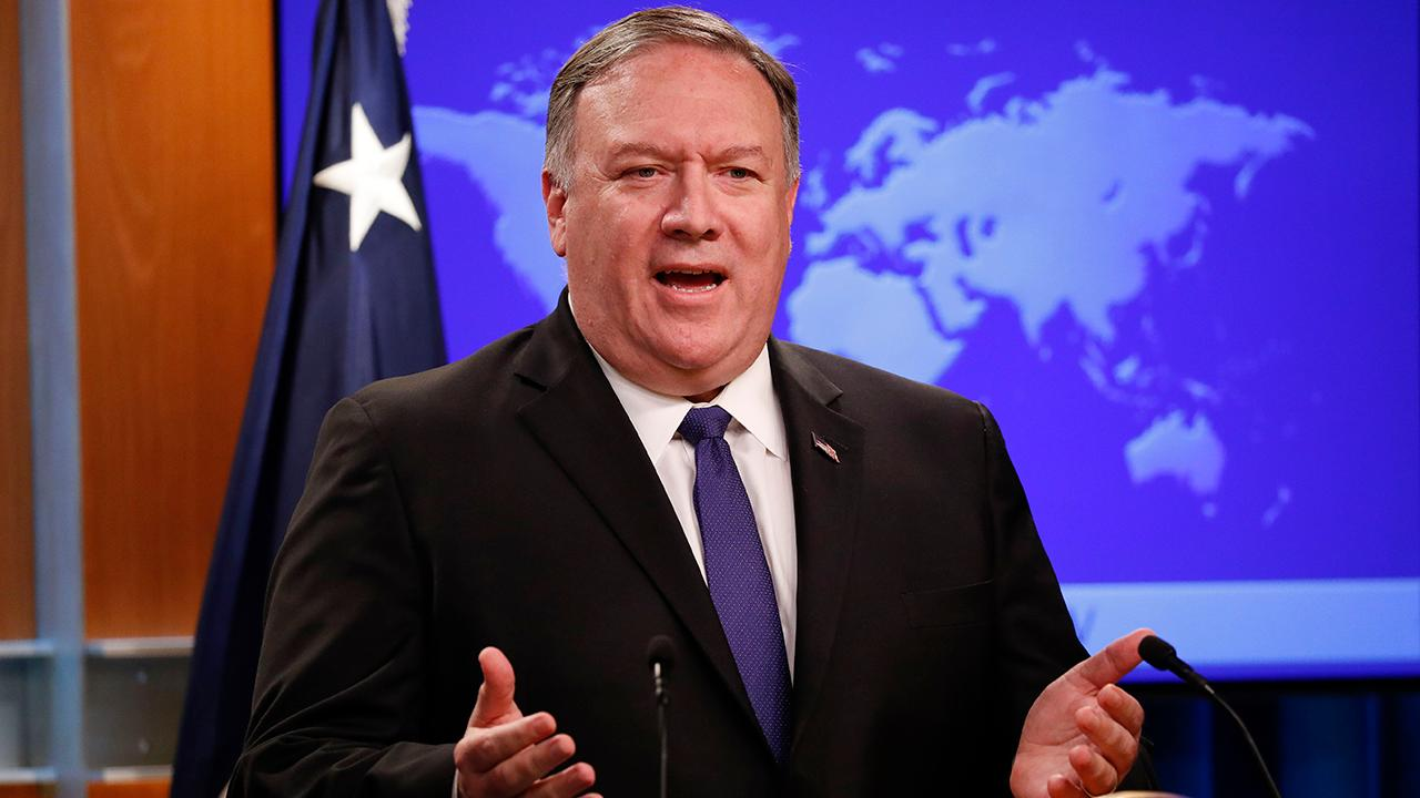 Secretary Pompeo says Iran is responsible for tanker attacks
