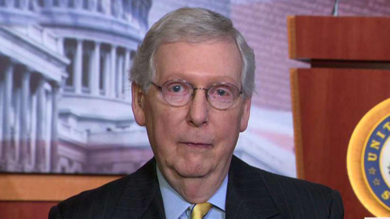 McConnell: I am the 'grim reaper' of the Democratic socialist agenda