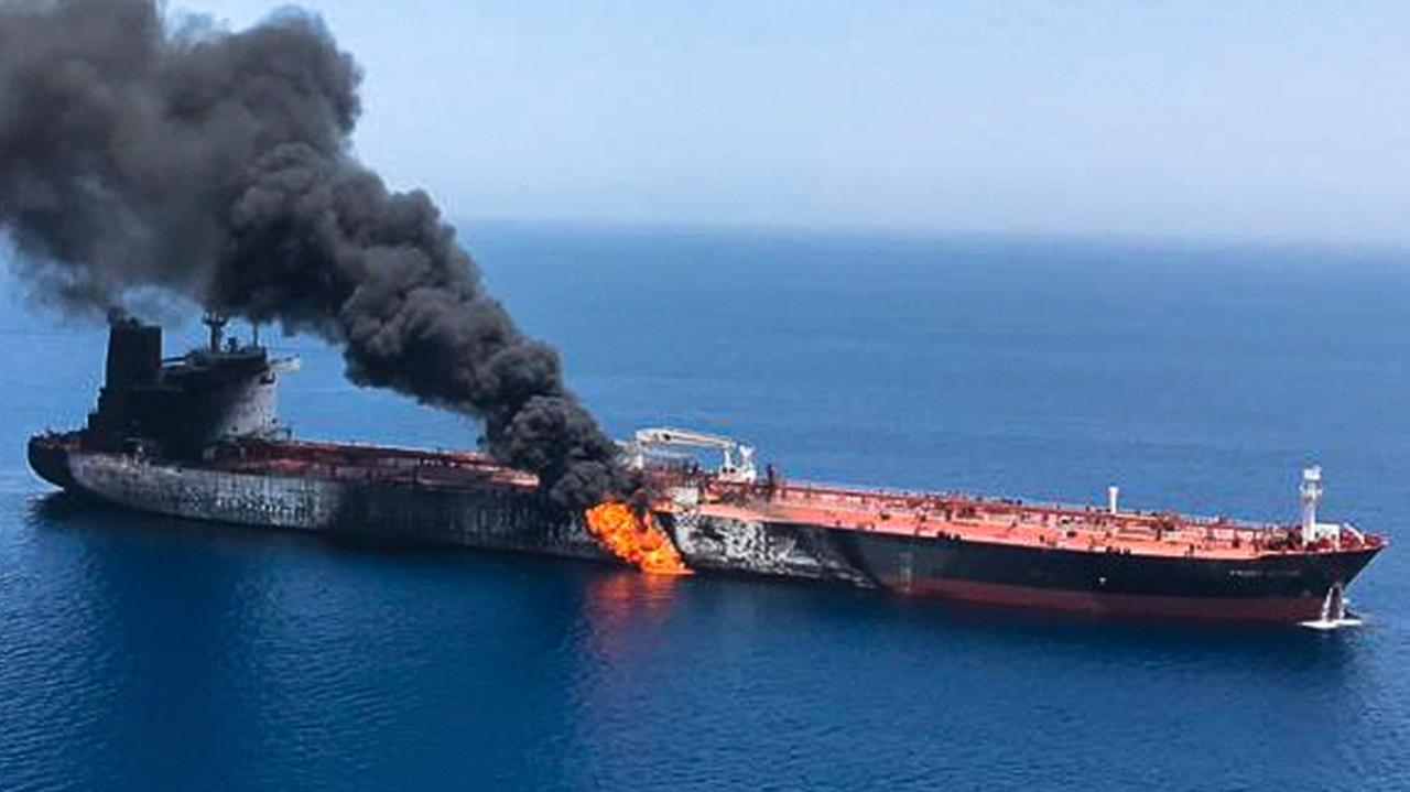 Trump administration directly blames the Iranian regime for attacks on oil tankers