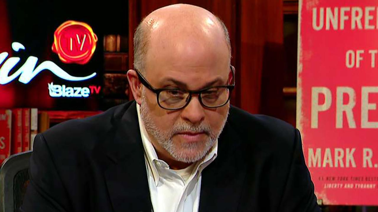 Mark Levin slams Democrats for declaring President Trump a criminal