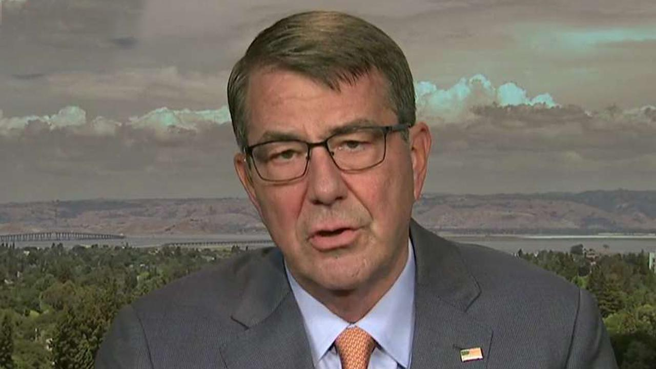 Ash Carter on tensions with Iran, lessons learned from his Pentagon experience
