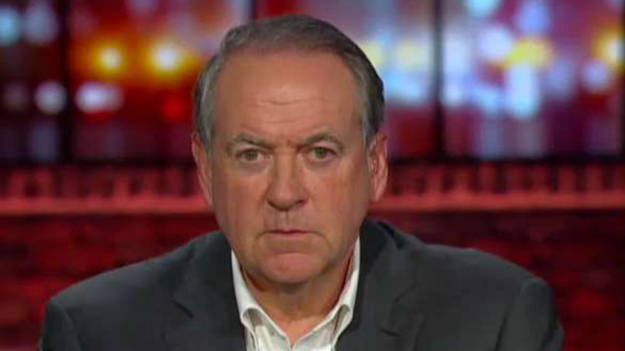 Huckabee: Rushing into military action with Iran would be a huge mistake