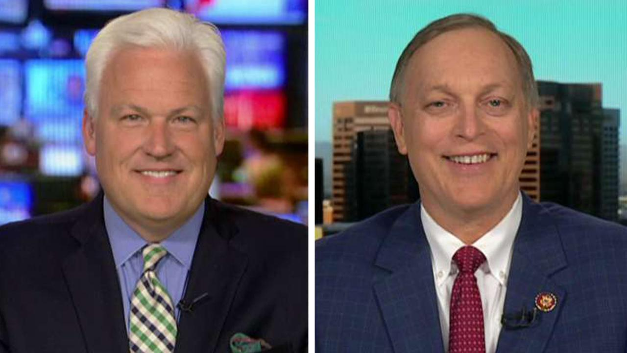 Matt Schlapp, Rep. Andy Biggs on calls for Trump's impeachment