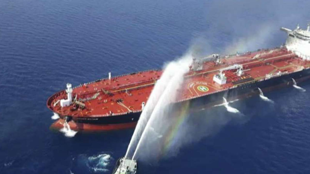 Pentagon claims Iran shot down a US drone prior to oil tanker attacks