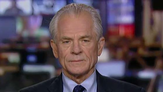 White House trade adviser Peter Navarro says the tariffs President Trump used allowed him to get more done in two days than Congress has done in 20 years on fixing the border crisis.