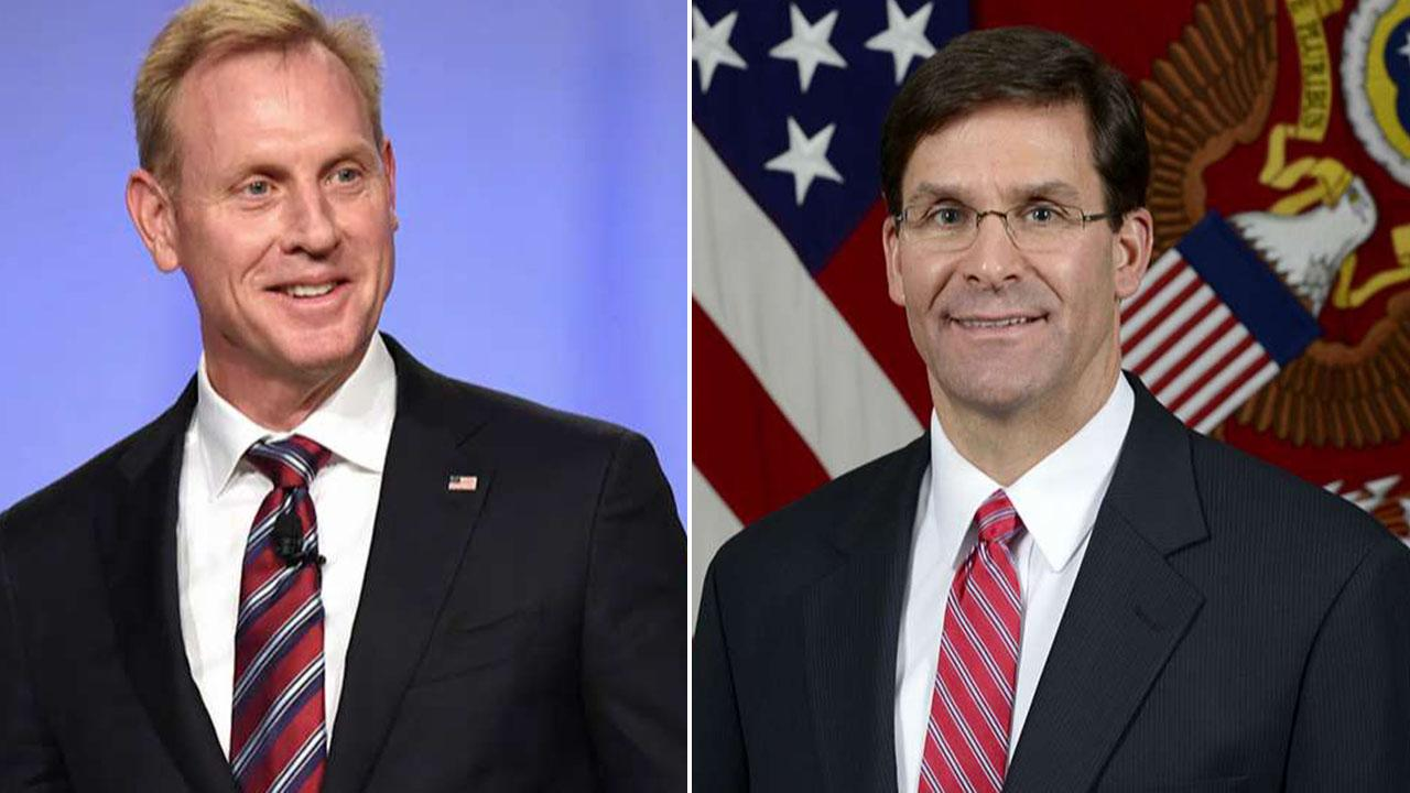 Trump names Army Secretary Mark Esper acting secretary of defense after Patrick Shanahan withdraws from role