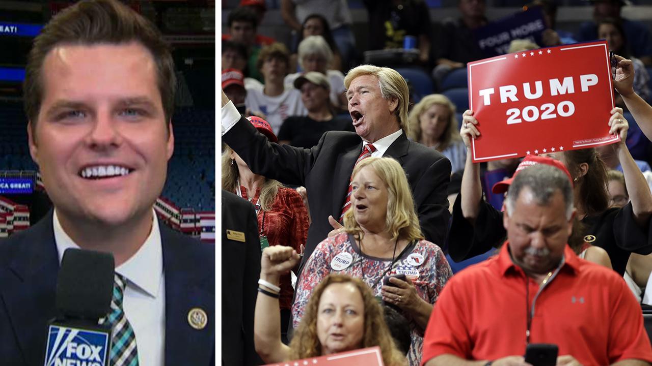 Rep. Gaetz: Trump's campaign is an inclusive movement