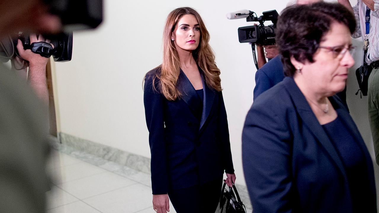Hope Hicks Questioned Behind Closed Doors On Capitol Hill