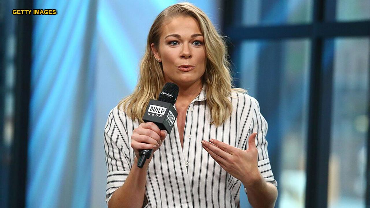 LeAnn Rimes' new religious tattoo stirs controversy among fans
