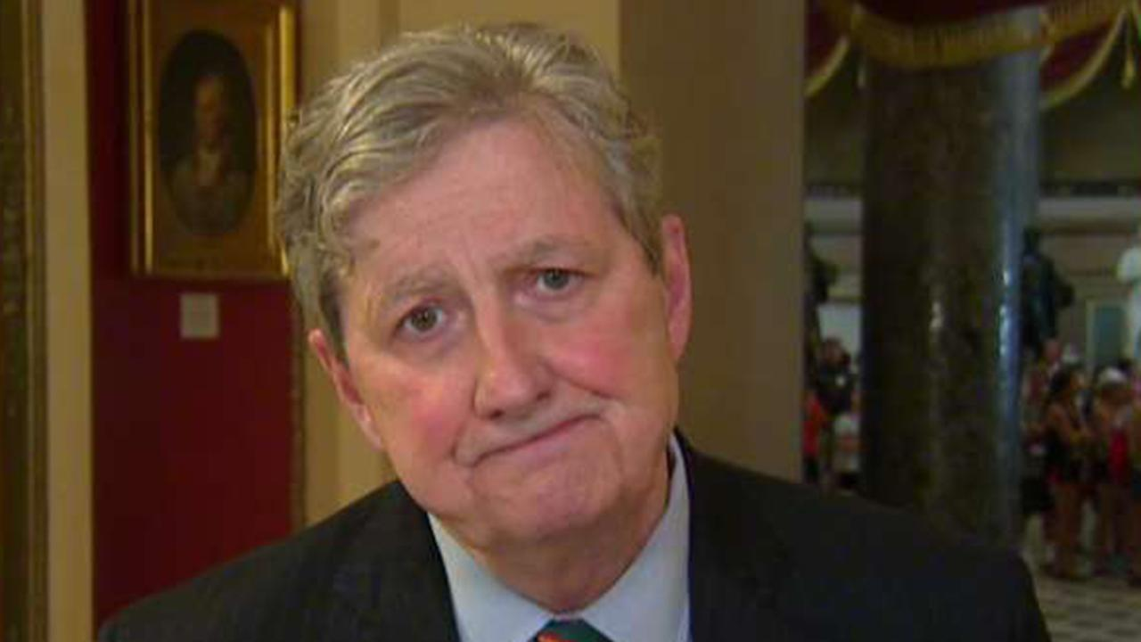 Sen. John Kennedy: You either believe in the rule of law or you don't
