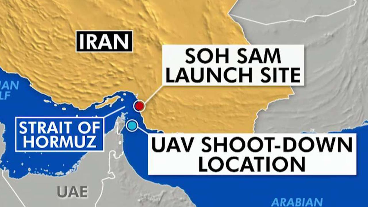 Iran shoots down US drone; Trump calls it a big mistake