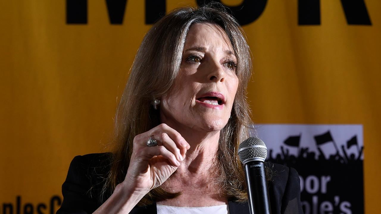 Democratic presidential candidate Marianne Williamson compares immigration raids to Nazi Germany
