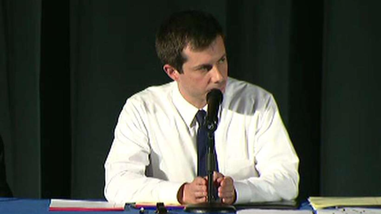 Pete Buttigieg holds emotional town hall one week after fatal police shooting
