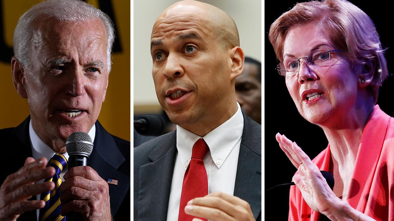 Which presidential candidate has the most to lose in the upcoming Democratic debate?