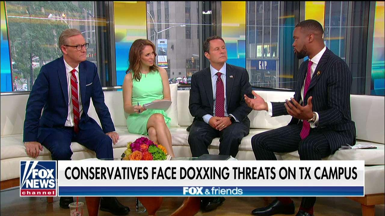 Report: Conservatives face doxxing threat from other students on Texas college campus