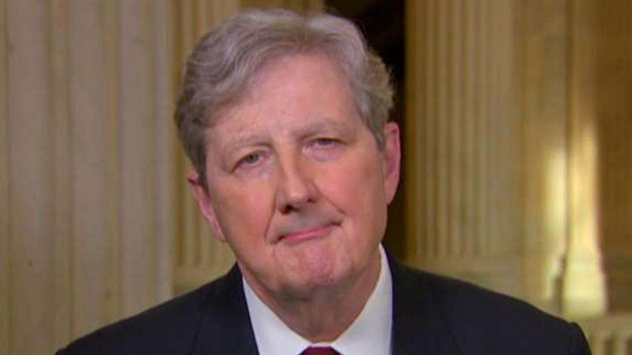 Sen. Kennedy: Democrats have refused to give Dept. of Homeland Security more money