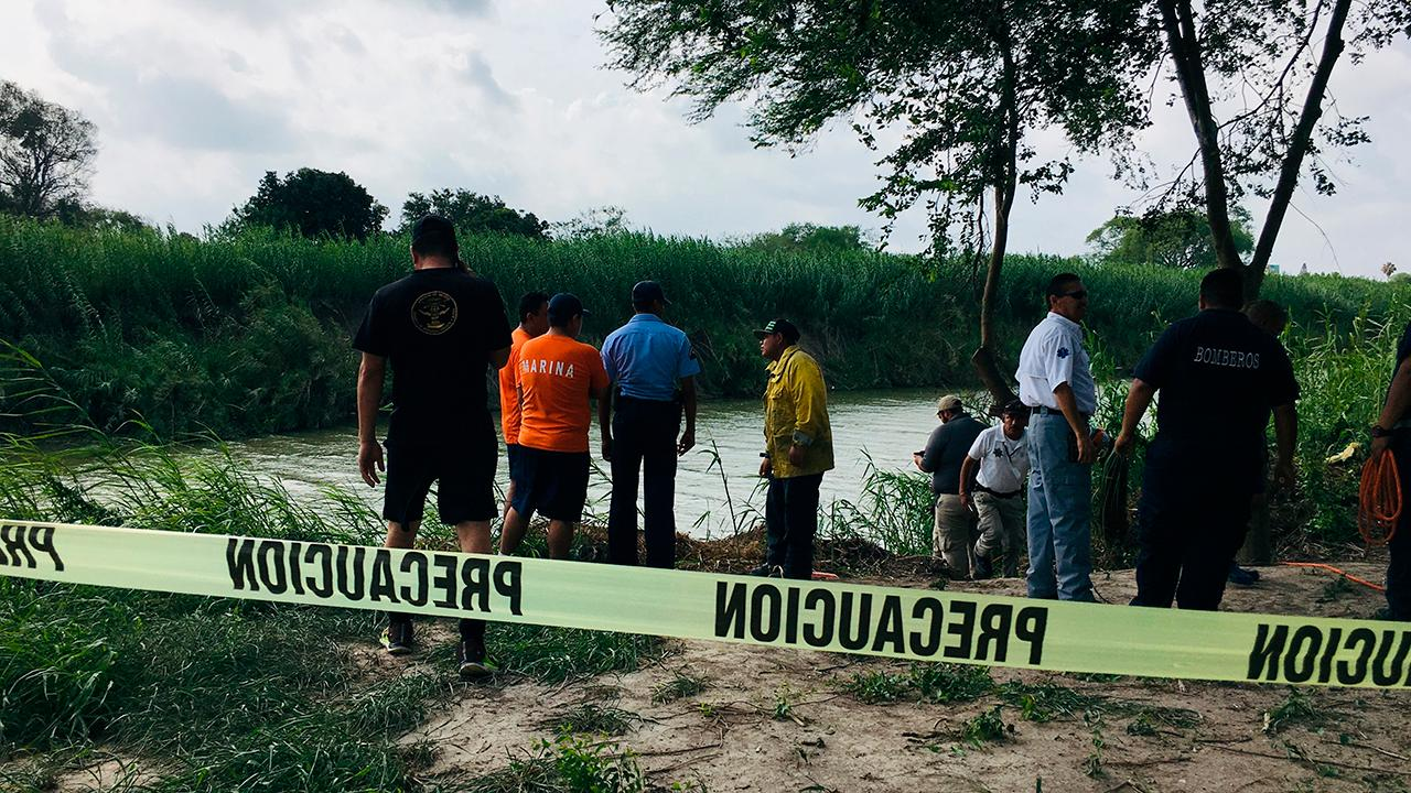 Warning, graphic images: Photos show father and daughter who drowned trying to cross the Rio Grande