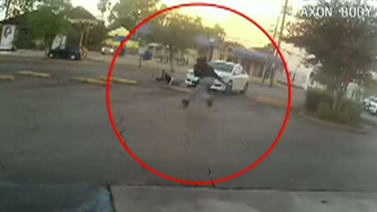 New Orleans police release footage of dramatic drug store shootout