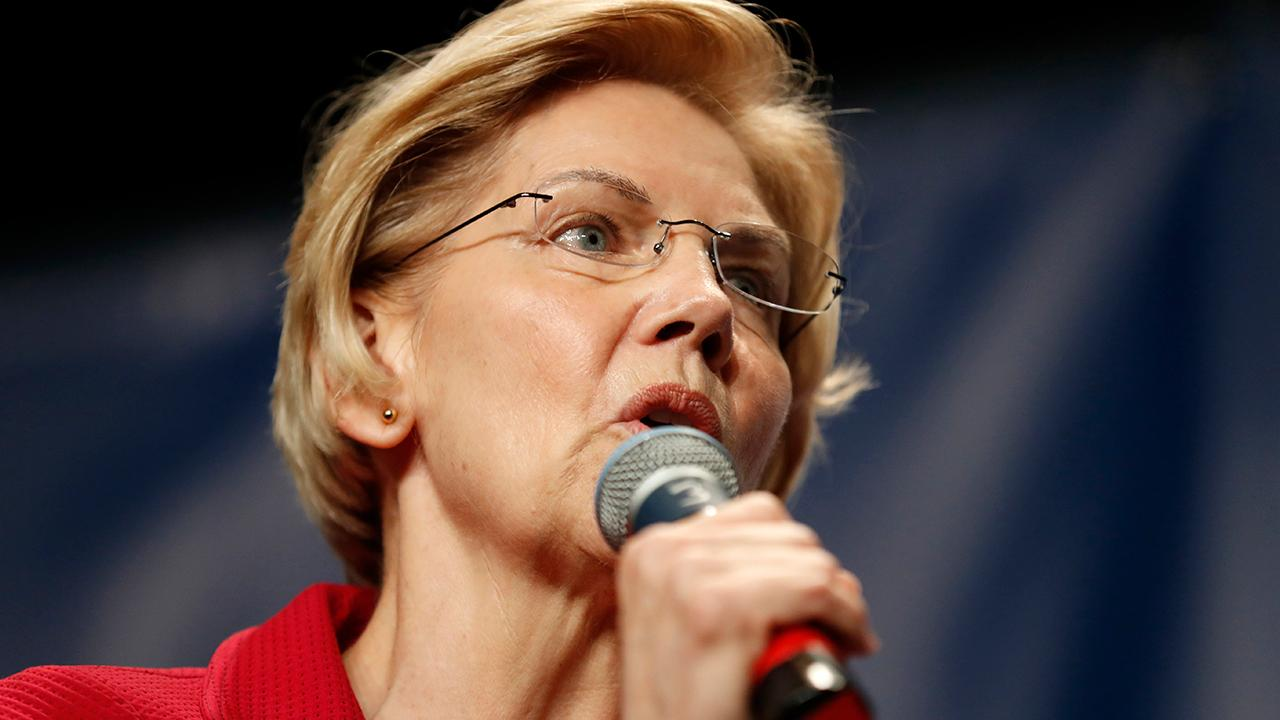 Elizabeth Warren is the highest polling candidate on night one of the first 2020 Democratic debate
