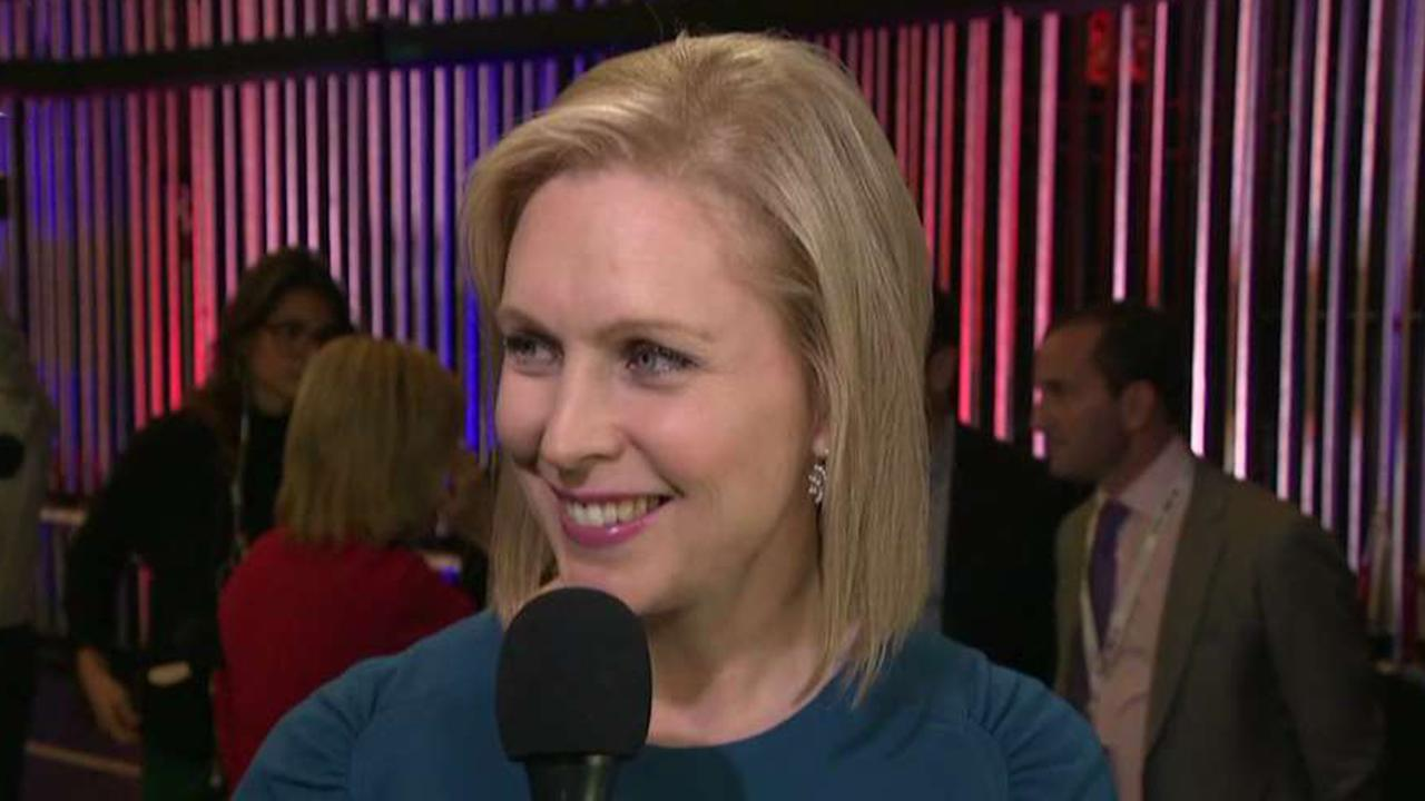 Democratic presidential candidate Kirsten Gillibrand says debate over third-term abortions is a red herring